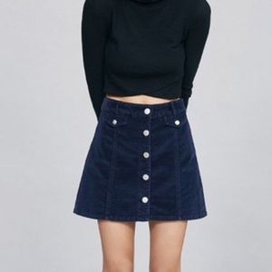 BDG | Denim Button Front Skirt